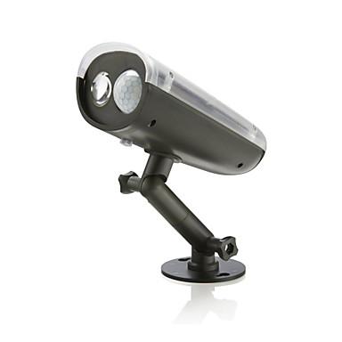 1 db LED napelemes világítás Dekorációs lámpa Nap- AkkumulátorBattery Érzékelő Újratölthető Vízálló