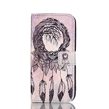 Para Samsung Galaxy Capinhas Porta-Cartão / Com Suporte / Flip / Estampada / Magnética Capinha Corpo Inteiro Capinha Filtro dos Sonhos