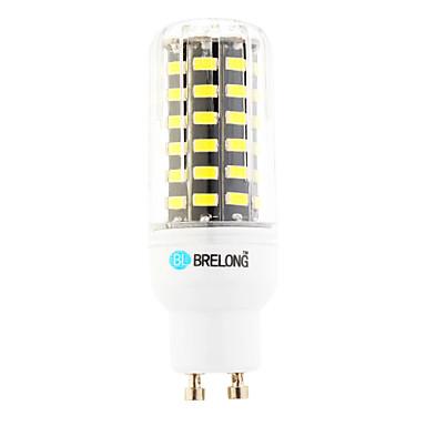 1pc 5 W 450-500 lm GU10 LED Corn Lights T 64 LED Beads SMD Warm White / Cold White 220-240 V / 1 pc