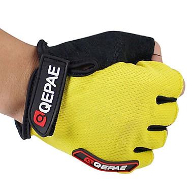 QEPAE Aktivite / Spor Eldivenleri Bisiklet Eldivenleri Sıcak Tutma Nefes Alabilir Yıpranmaz Anti-savrulma Koruyucu Darbeye Dayanıklı
