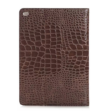 divat magas minőségű vékony krokodilbőr tok iPad pro okosborító állvánnyal aligátor mintás ügy