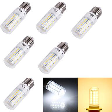 e14 e26 / e27 led corn világítás t 56 smd 5730 240lm meleg fehér hideg fehér 3000k / 6000k dekoratív ac 220-240 ac 110-130v