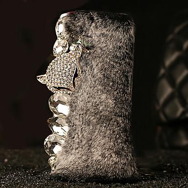 Case Kompatibilitás Samsung Galaxy Samsung Galaxy tok Strassz Fekete tok 3D figura PC mert S6 edge plus S6 edge S6