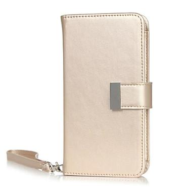 Mert iPhone 6 tok / iPhone 6 Plus tok Pénztárca / Kártyatartó / Állvánnyal / Flip / Minta Case Teljes védelem Case Egyszínű Kemény Műbőr