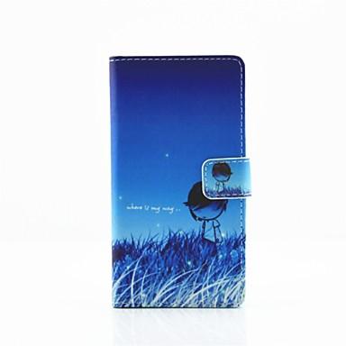 Mert Huawei tok / P9 / P9 Lite Pénztárca / Kártyatartó / Állvánnyal Case Teljes védelem Case Rajzfilmfigura Kemény Műbőr HuaweiHuawei P9