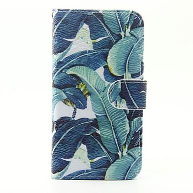케이스 제품 Samsung Galaxy Samsung Galaxy S7 Edge 카드 홀더 지갑 스탠드 플립 패턴 전체 바디 케이스 꽃장식 PU 가죽 용 S7 edge S7 S6 S5