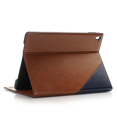 케이스 제품 스탠드 자동 슬립 / 웨이크 기능 전체 바디 케이스 한 색상 PU 가죽 용 iPad Pro 9.7''