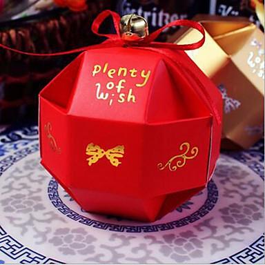 10PCS 즈리 빈 사탕 상자 결혼식 파티 리본으로 선물 가방을 선호