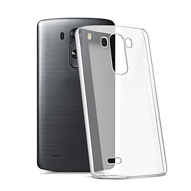 Case For LG G3 LG LG K10 LG K7 LG G5 LG G4 LG Case Transparent Back Cover Solid Color Soft TPU for