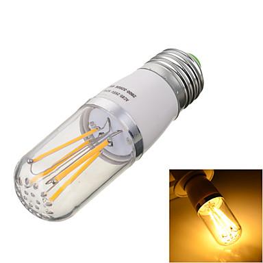 E26/E27 LED필라멘트 전구 T 4 LED COB 장식 따뜻한 화이트 차가운 화이트 2800/6500lm 2800/6500kK AC 85-265V