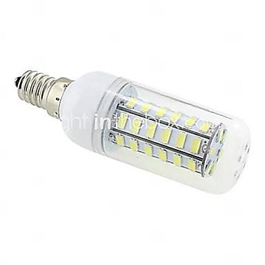 10 W 1000 lm E14 / G9 / B22 LED-kornpærer T 48 LED perler SMD 5730 Varm hvit / Kjølig hvit 220-240 V