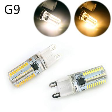 E14 G9 G4 BA15D LED 콘 조명 T 80 LED가 SMD 3014 밝기조절가능 장식 따뜻한 화이트 차가운 화이트 500lm 2800-3200/6000-6500K AC 220-240 AC 110-130V