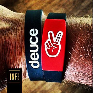 Sports Tide Owen Carey Brand with Deuce Brand Energy Basketball Wristband Bracelet Kyrie Irving