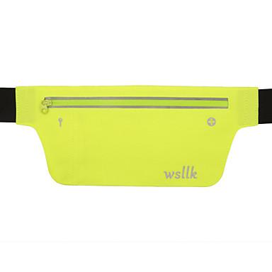 0.2LLKarpánt Belt Pouch Cell Phone Bag Csomag derékra mert Halászat Mászás Kerékpározás / Kerékpár Fitnesz Futás Kocogás Utazás Sportska