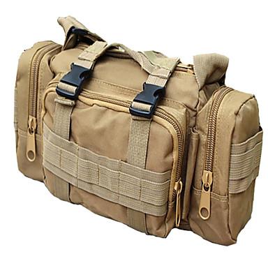 허리 팩 슬링 & 메신저 백 어깨에 매는 가방 5 L - 방수 착용 가능한 1000D 집 밖의 캠핑 & 하이킹 등산 레저 스포츠 나일론 블랙 지구 옐로우