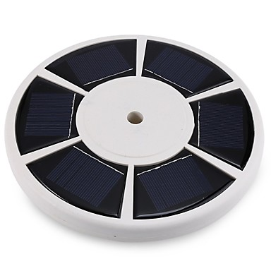 6W LED 태양열 조명 200 lm 차가운 화이트 딥 LED 배터리 V 1개