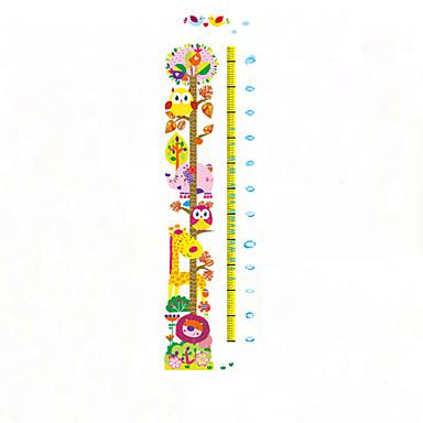 애니멀 / 보태니컬 / 패션 벽 스티커 플레인 월스티커,PVC 50*70CM