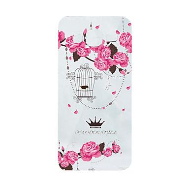케이스 제품 삼성 갤럭시 케이스 패턴 뒷면 커버 꽃장식 소프트 TPU 용 J5