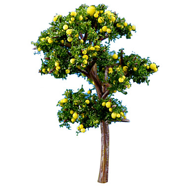 modell& építőjáték baba játék grapefruit fa
