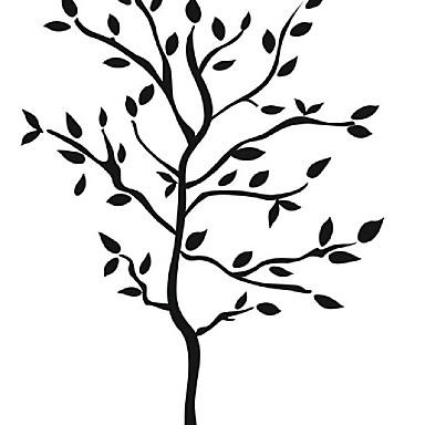 애니멀 / 카툰 / 로맨스 / 정물화 / 패션 / 휴일 / 풍경 / 모양 / 빈티지 / 사람들 / 판타지 / 레져 벽 스티커 3D 월 스티커,PVC 52*70cm