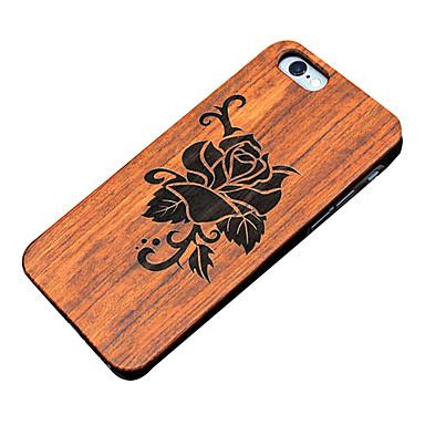 용 아이폰5케이스 케이스 커버 엠보싱 텍스쳐 뒷면 커버 케이스 꽃장식 하드 나무 용 Apple iPhone SE/5s iPhone 5