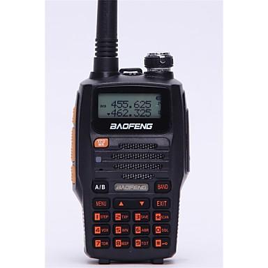 Baofeng Hordozható / Digitális UV-5R UPFM Rádió / Hangvezérlés / Kettős csatornafigyelés / Kettős csatornafigyelés kijelző / Kettős