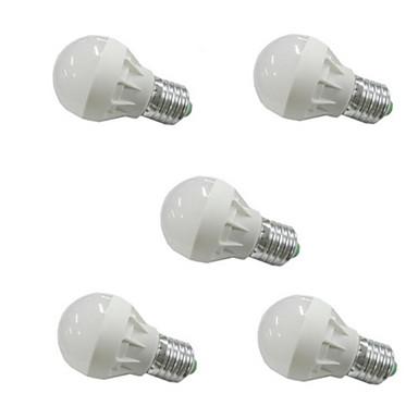 3 W 300-350 lm E26/E27 LED Λάμπες Σφαίρα G45 6 leds SMD 5630 Θερμό Λευκό Ψυχρό Λευκό AC 110-130V AC 220-240V