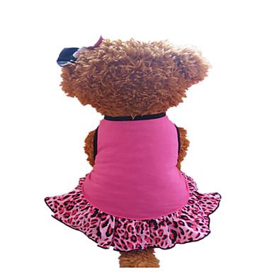 Hond Jurken Hondenkleding Roos Fuchsia/Zwart Kostuum Voor huisdieren