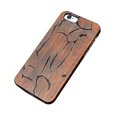 용 아이폰5케이스 케이스 커버 엠보싱 텍스쳐 뒷면 커버 케이스 나무결 하드 나무 용 Apple iPhone SE/5s iPhone 5