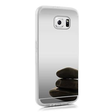 Capinha Para Samsung Galaxy Samsung Galaxy S7 Edge Galvanizado Capa traseira Desenhos 3D Acrílico para S7 edge S7 S6 edge plus S6 edge S6