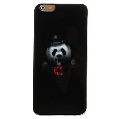 Mert iPhone 6 tok iPhone 6 Plus tok tokok IMD Minta Hátlap Case Állat Puha TPU mert Apple iPhone 6s Plus iPhone 6 Plus iPhone 6s iPhone 6