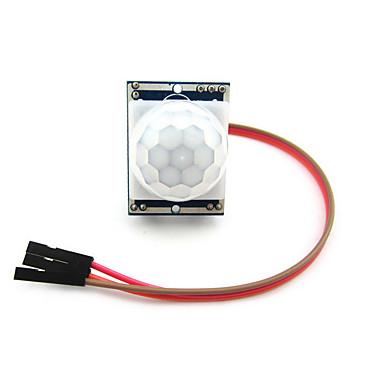 piroelem infravörös PIR mozgásérzékelő detektor modul Arduino