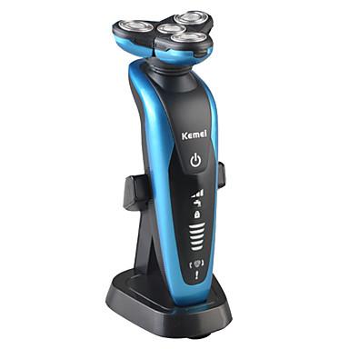 Rasoio elettrico Baffi e barbe Elettrico Impermeabile Rasatura a bagnato/secco N/D Kemei