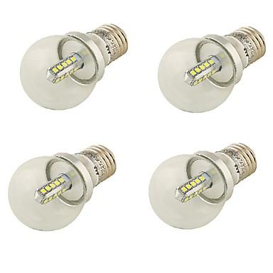 E26/E27 LED gömbbúrás izzók A60(A19) 20 led SMD 2835 Dekoratív Hideg fehér 360lm 6000K AC 85-265 AC 220-240 AC 100-240 AC 110-130V