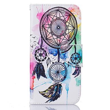 케이스 제품 Samsung Galaxy Samsung Galaxy S7 Edge 카드 홀더 지갑 스탠드 플립 패턴 전체 바디 케이스 포수 드림 소프트 PU 가죽 용 S7 edge S7 S6 edge S6 S5