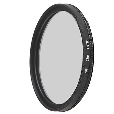 emoblitz 55mm CPL cirkuláris polarizátor objektív szűrő
