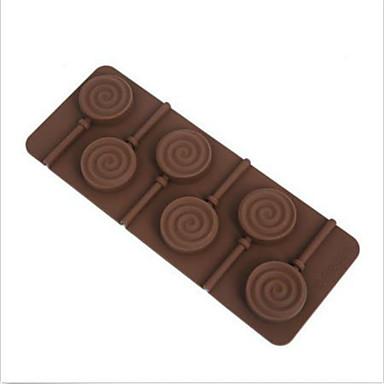 sütőformát Candy Csokoládé Palacsinta Torta Szilikon DIY Születésnap Jó minőség