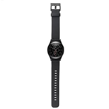 삼성 S2 시계 용 가죽 손목 시계