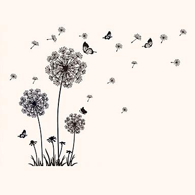 동물 정물 패션 꽃 빈티지 Leisure 보타니칼 벽 스티커 플레인 월스티커 냉장고 스티커, 비닐 홈 장식 벽 데칼 벽