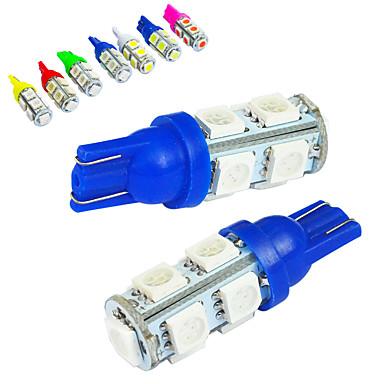 JIAWEN 10pcs T10 Car Light Bulbs 1.2W SMD 5050 85lm Tail Light / Decorative Lamp / Working Light