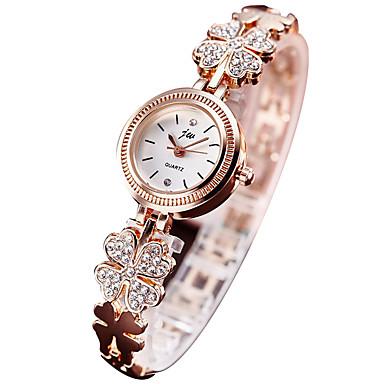 Női Divatos óra Karkötőóra digitális karóra Kvarc Digitális Alkalmi óra utánzat Diamond ötvözet Zenekar Ezüst Arany