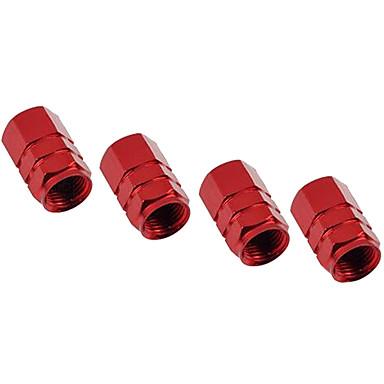알루미늄 성격 타이어 압력 밸브 캡 가스 노즐 캡 장식 캡