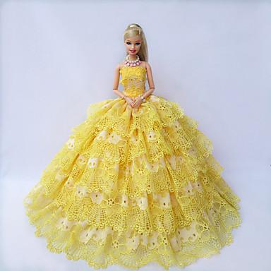 Party/Estélyi Ruhák mert Barbie baba Ruhák mert Lány Doll Toy