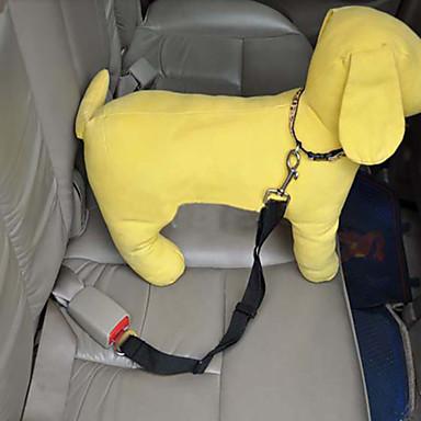 Köpek Tasma Kayışı Emniyet kemeri Güvenlik Araba İçin Ayarlanabilir Naylon Siyah Mor Kırmzı Mavi Pembe