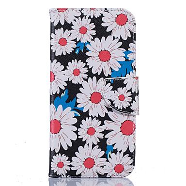 Mert Samsung Galaxy S7 Edge Kártyatartó / Pénztárca / Állvánnyal / Flip / Minta Case Teljes védelem Case Szó / bölcselet Puha Műbőr
