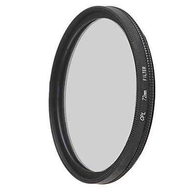 emoblitz의 72mm의 CPL 원형 편광 렌즈 필터
