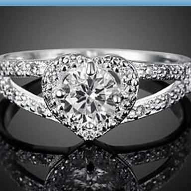 Gyűrűk Divat Napi / Hétköznapi Ékszerek Ezüst Női Páros gyűrűk 1db,Egy méret Ezüst