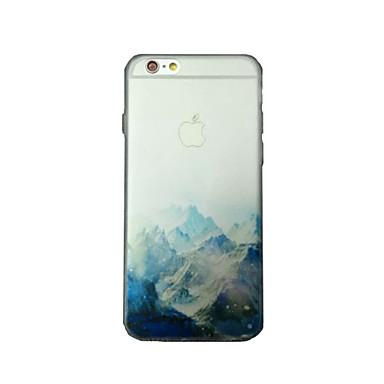 tok Για Apple iPhone 8 / iPhone 8 Plus / iPhone 7 Διαφανής / Με σχέδια Πίσω Κάλυμμα Τοπίο Μαλακή TPU για iPhone 8 Plus / iPhone 8 / iPhone 7 Plus