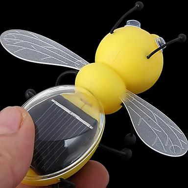 태양 전지 패널 태양 광 발전 모델 장난감 에너지 절약 꿀벌