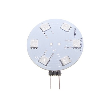 2W G4 / GZ4 LED Bi-pin 조명 매립형 레트로핏 9 SMD 5050 80-120 lm RGB 장식 DC 12 / AC 12 V 1개
